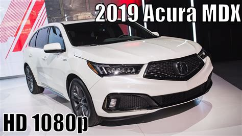 review 2019 acura mdx specs adds sporty spec