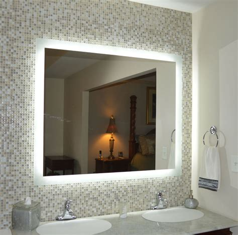 lighted vanity mirror wall mounted led mam94844 48