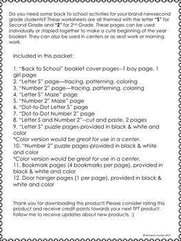 grade school worksheets booklet printables activities