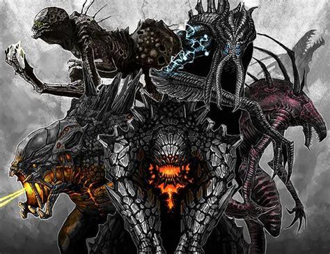 cool monster fan art single piece fan art