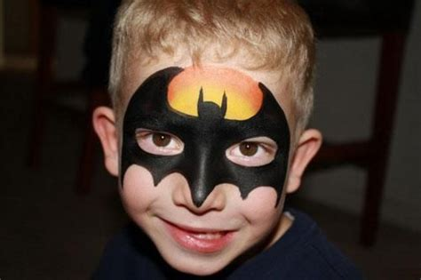 youre information submittedml facepainting batman face paint superhero