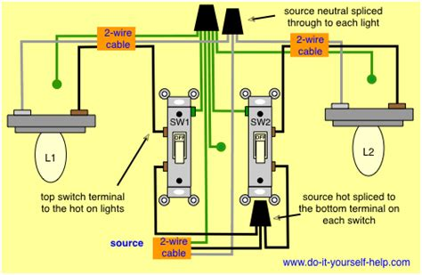 electrical adjacent room light switch causing led lights