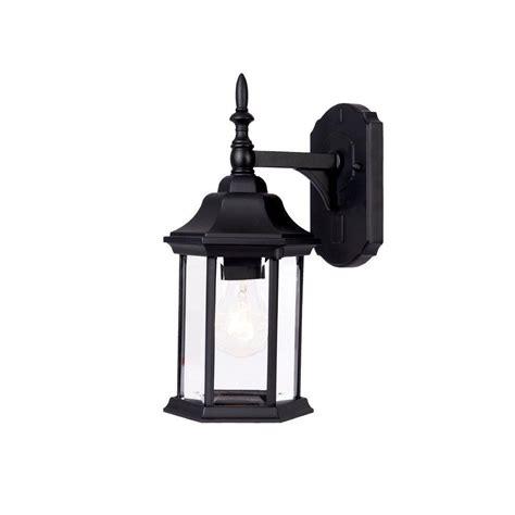 acclaim lighting craftsman collection 1 light matte black