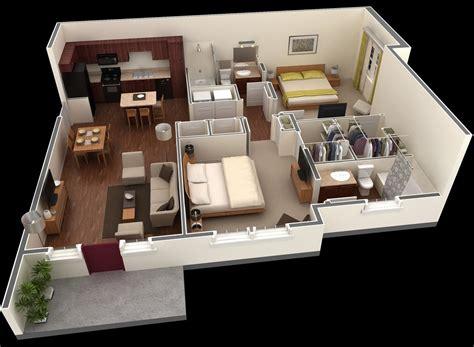 50 3d floor plans lay designs 2 bedroom