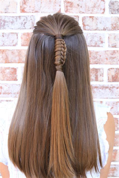 5 easy hairstyles school cute girls hairstyles