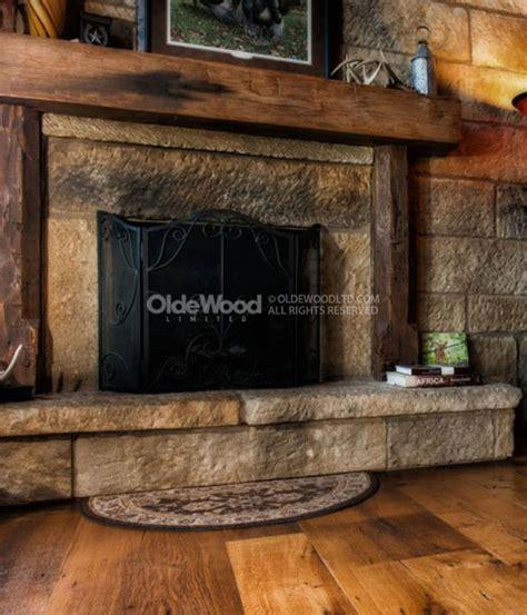 wood fireplace mantels reclaimed barn wood mantels