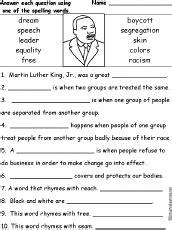 Martin Luther King Jr Vocabulary Quiz Worksheet Answers.html