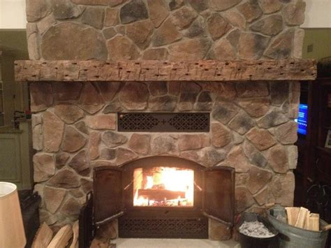 rustic fireplace mantels rustic family room york