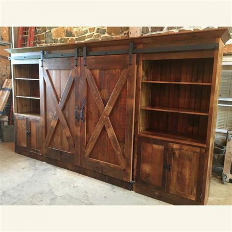 barn door entertainment cabinet barn doors furniture barn