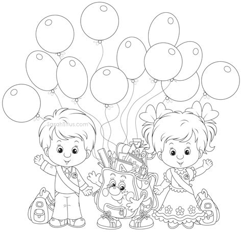 school coloring pages sarah titus