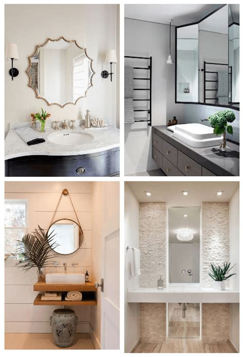27 bathroom mirror ideas style sorting style