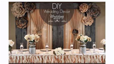 wedding decor 101 sign week free diy tips