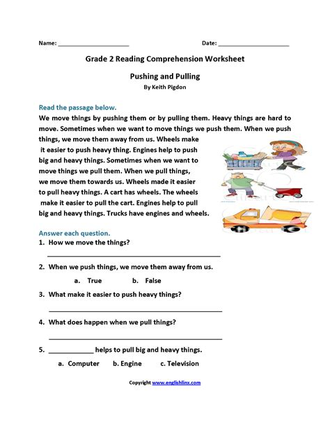 Reading Comprehension Exercises For Grade 2 Pdf.html