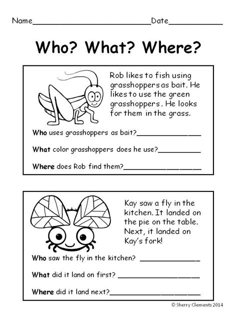 summer bugs reading comprehension reading ideas reading comprehension
