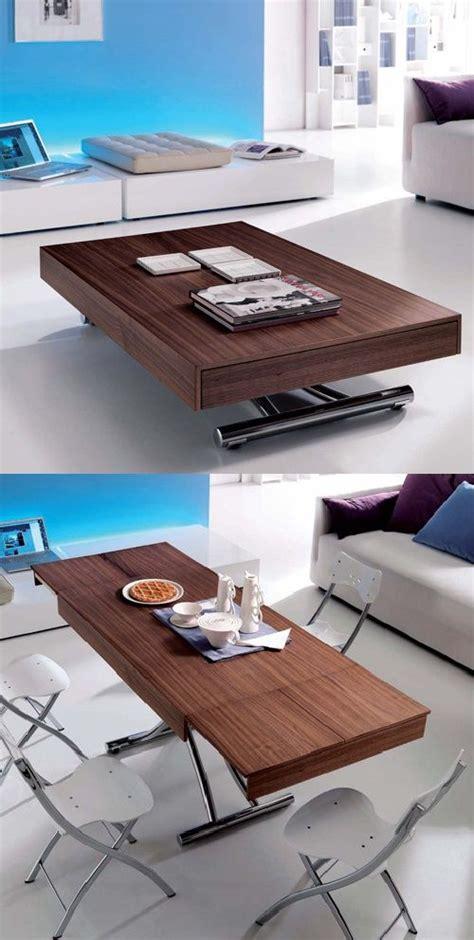passo transforming coffee table glass