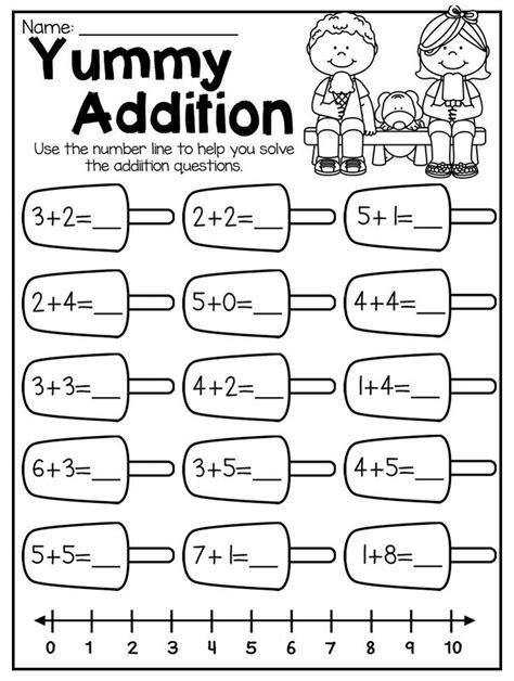 summer review kindergarten math literacy worksheet pack kindergarten