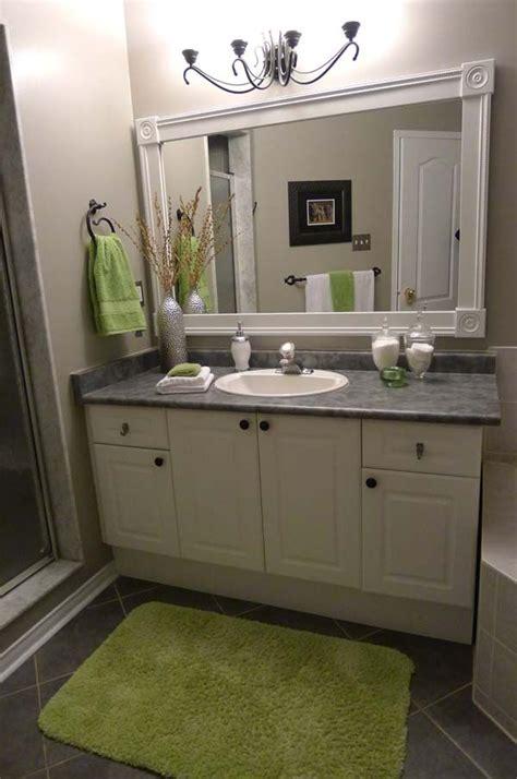 49 mirror border ideas images pinterest bathroom ideas