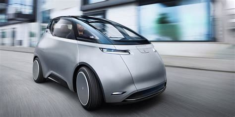 video shows sleek electric cars save space future