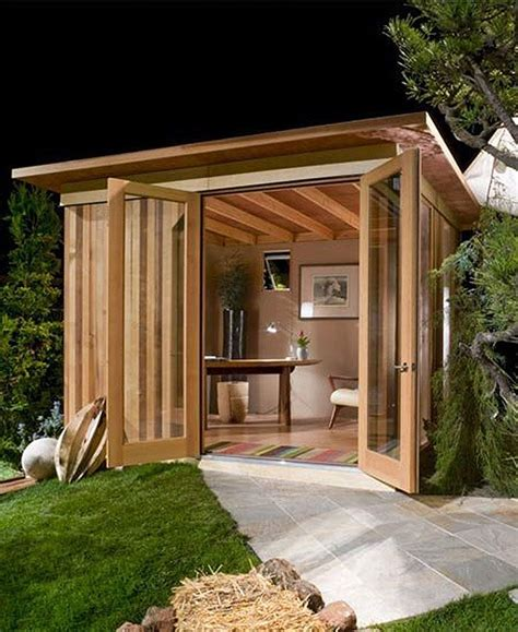 people turning sheds home offices 20 pics backyard