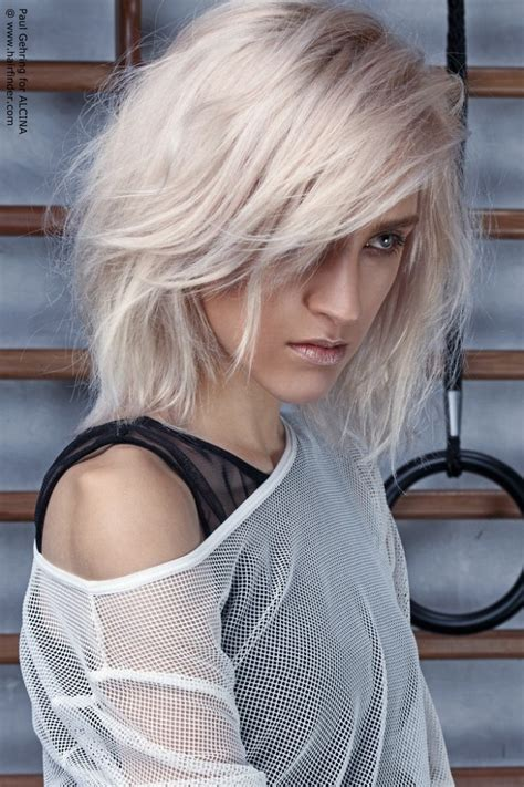 sporty medium length wash hairstyle layers