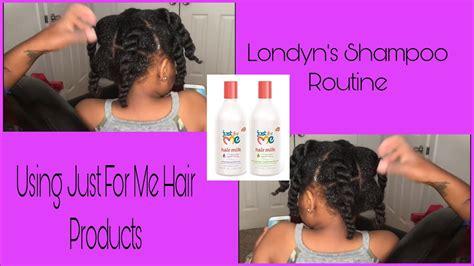full wash day routine kids ft hair milk
