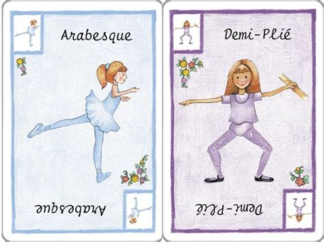 ballet positions flash cards printable learn dance balletforadults
