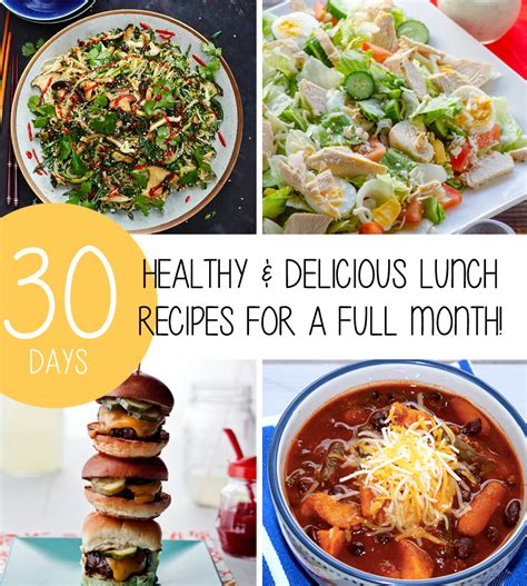 healthy delicious lunch recipes full month trimmedandtoned
