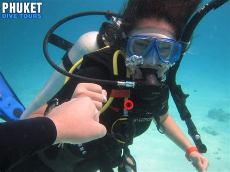 scuba diving time beginners 3800 thb phuket dive