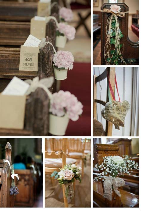 5 easy diy ideas decorate wedding pews
