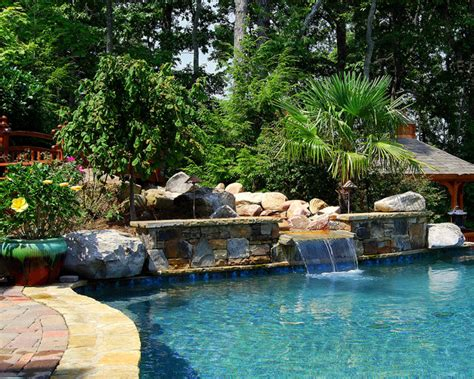 ultimate backyard experience traditional pool atlanta aquarama pools