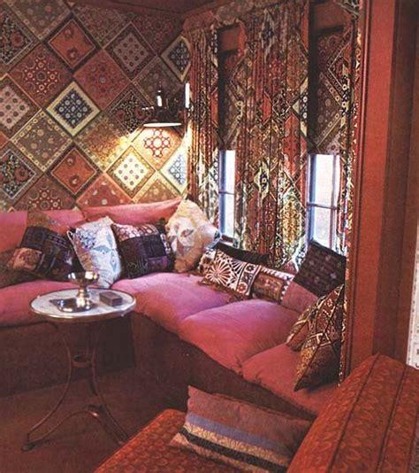 bohemian interior tatty lace
