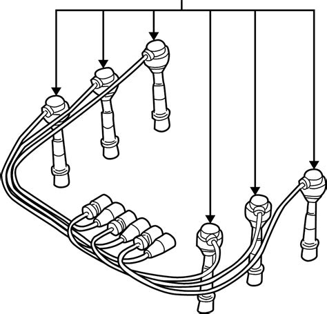 pontiac grand prix spark plug wire set wire