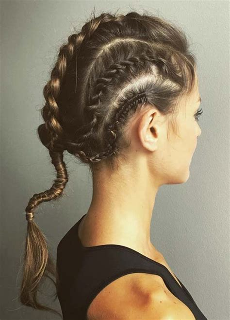 top 40 sporty hairstyles workout fashionisers