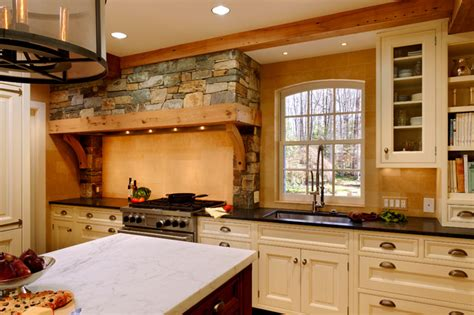 classic french normandy style kitchen traditional kitchen dc