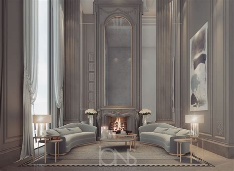 fireplace lounge design abu dhabi private palace ions