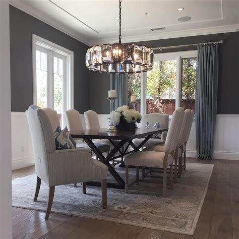 benjamin moore chelsea gray paint color schemes dining