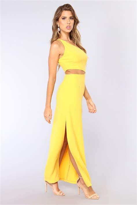 tristan shoulder dress yellow dresses yellow maxi dress