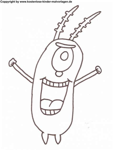 plankton drawing getdrawings free download
