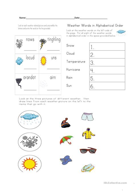 weather clothing worksheet free esl printable worksheets teachers