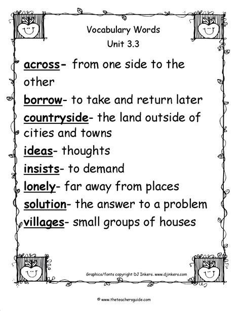 2nd Grade Spelling Words Worksheets.html