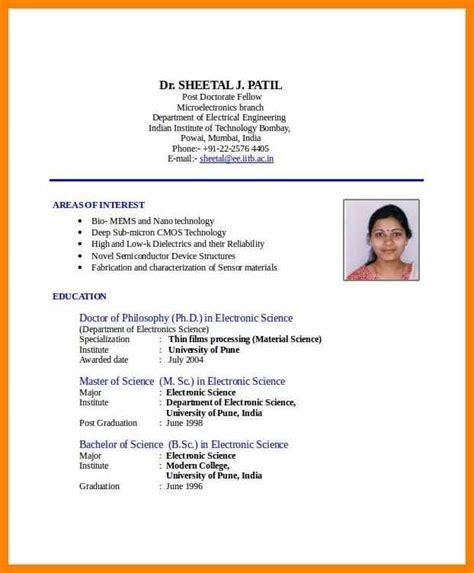 Resume Format For Students In India.html