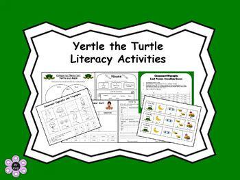 yertle turtle literacy activities fmd tpt