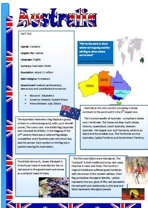 49 free australia zealand worksheets