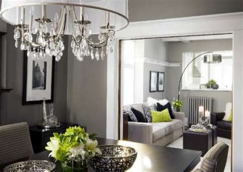 grey dining room paint colors dark rooms 9