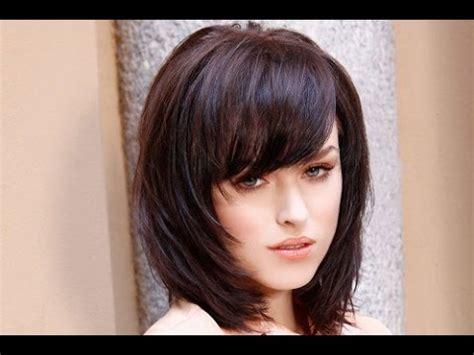 30 shoulder length hairstyles bangs layers shoulder length