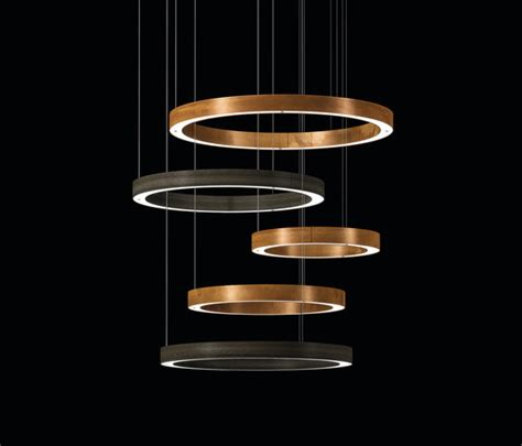 light 5 ring multimateric suspended lights henge architonic