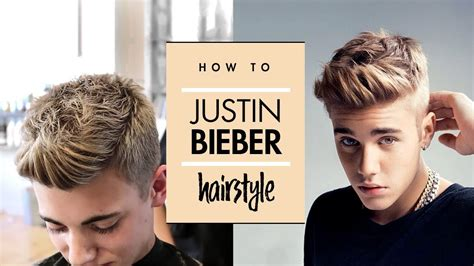 justin bieber hair tutorial men celebrity hairstyle vilain