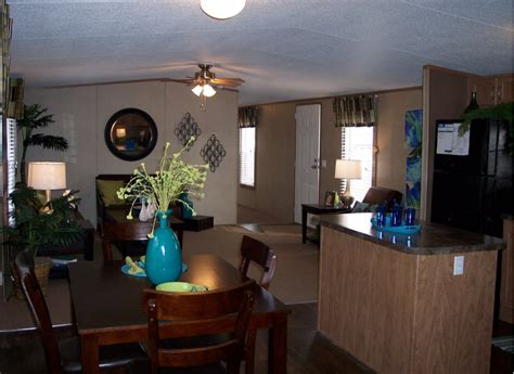 modern single wide manufactured home mobile home living