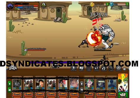 ninja saga cheat damage hack 1 hit kill