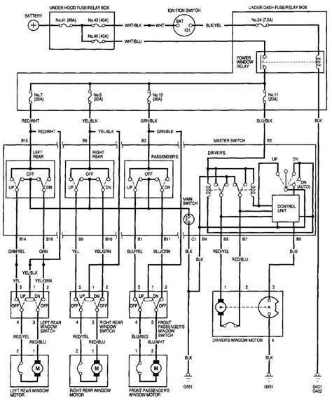 96 civic 4dr power window problem honda tech